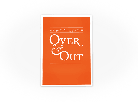 Over & Out · Poster